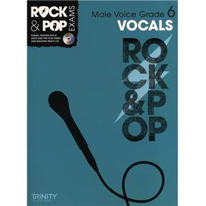 COMPILATION - TRINITY COLLEGE LONDON : ROCK & POP GRADE 6 LOW VOICE FOR SINGERS + CD