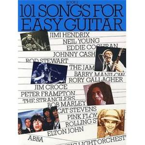 COMPILATION - 101 SONGS FOR EASY GUITAR VOL.2