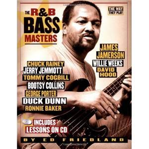 FRIEDLAND ED - R&B BASS MASTERS THE WAY THEY PLAY TAB. + CD