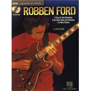 FORD ROBBEN - GUITAR SIGNATURE LICKS + CD
