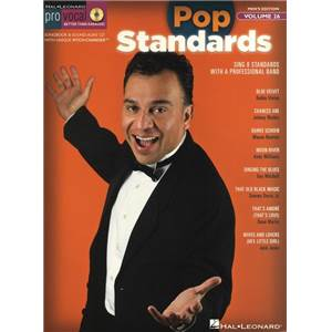 COMPILATION - PRO VOCAL FOR MALE SINGERS VOL.26 POP STANDARDS + CD