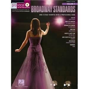 COMPILATION - PRO VOCAL FOR WOMEN SINGERS VOL.09 BROADWAY STANDARDS + CD