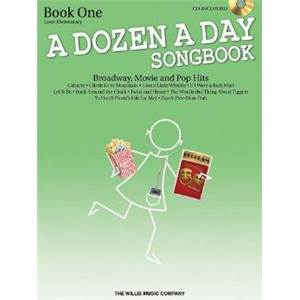 COMPILATION - DOZEN A DAY VOL.2 SONGBOOK BROADWAY, MOVIE AND POP HITS SONGBOOK + CD