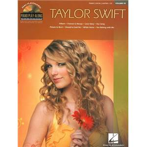 SWIFT TAYLOR - PIANO PLAY ALONG VOL.095 + CD