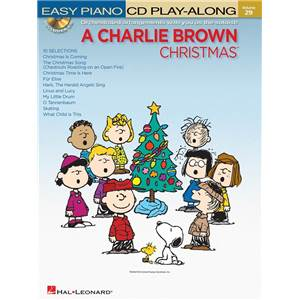 COMPILATION - EASY PIANO CD PLAY ALONG VOL.29 A CHARLIE BROWN CHRISTMAS + CD