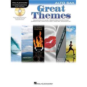 COMPILATION - GREAT THEMES ALTO SAXOPHONE PLAY ALONG + CD