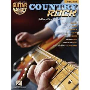 COMPILATION - GUITAR PLAY ALONG VOL.132 COUNTRY ROCK + CD