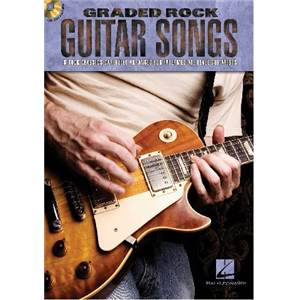 COMPILATION - GRADED GUITAR SONGS 8 ROCK CLASSICS FOR INTERMEDIATE + CD