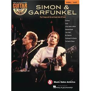 SIMON & GARFUNKEL - GUITAR PLAY ALONG VOL.147 + CD