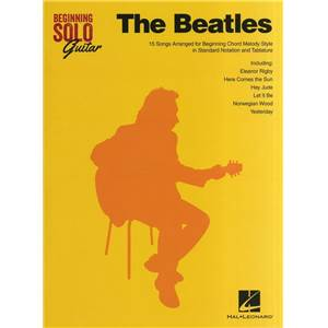 BEATLES THE - BEGINNING SOLO GUITAR