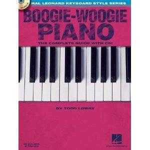 LOWRY TODD - BOOGIE WOOGIE PIANO: THE COMPLETE GUIDE + CD