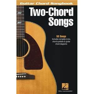 COMPILATION - GUITAR CHORD SONGBOOK 2 CHORDS SONGS 58 SONGS