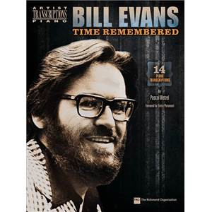 EVANS BILL - TIME REMEMBERED 14 PIANO TRANSCRIPTIONS