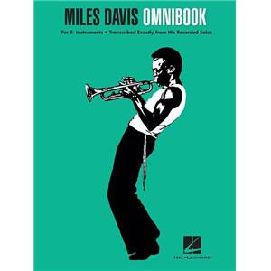 DAVIS MILES - OMNIBOOK FOR EB INSTRUMENTS