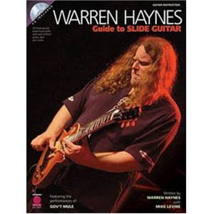 HAYNES WARREN - GUIDE TO SLIDE GUITAR TAB. + CD