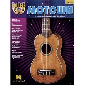 COMPILATION - UKULELE PLAY ALONG VOL.10 MOTOWN + CD