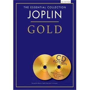 JOPLIN SCOTT - GOLD ESSENTIAL PIANO COLLECTION + 2CDS