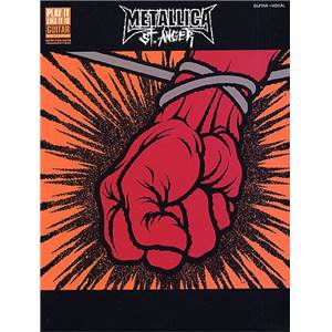 METALLICA - ST. ANGER GUITAR TAB.