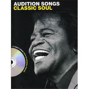 COMPILATION - AUDITION SONGS CLASSIC SOUL 10 TITLES P/V/G + CD