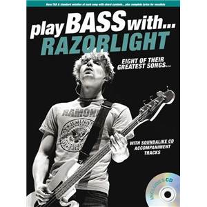 RAZORLIGHT - PLAY BASS WITH + CD