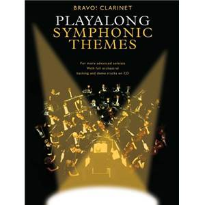 COMPILATION - PLAY ALONG SYMPHONIC THEMES CLARINET + CD