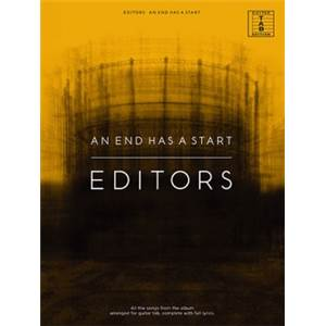 EDITORS - AN END HAS A START GUITAR TAB.