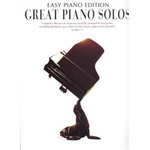 COMPILATION - GREAT PIANO SOLOS EASY COLLECTION
