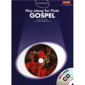 COMPILATION - GUEST SPOT GOSPEL PLAY ALONG FOR FLUTE + CD