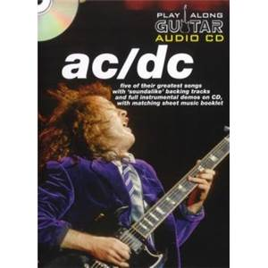 AC/DC - PLAY ALONG GUITAR (FORMAT DVD) + CD
