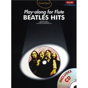 COMPILATION - GUEST SPOT FLUTE BEATLES HITS + CD