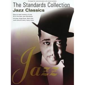 COMPILATION - STANDARDS COLLECTION : JAZZ CLASSICS P/V/G