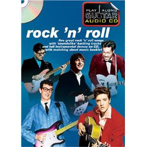 COMPILATION - ROCK 'N' ROLL PLAY ALONG GUITAR + CD