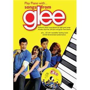 COMPILATION - GLEE PLAY PIANO WITH + CD