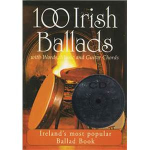 COMPILATION - IRISH BALLADS (100) VOL.1 + CD