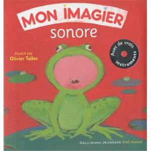 TALLEC OLIVIER - MON IMAGIER SONORE + CD