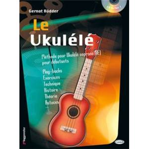 RODDER - METHODE POUR UKELELE + CD