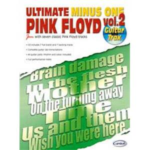 PINK FLOYD - ULTIMATE MINUS ONE VOL.2 GUITAR TRAX + CD
