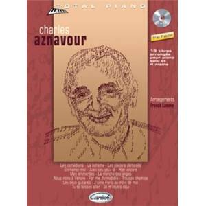 AZNAVOUR CHARLES - COLLECTION TOTAL PIANO + CD