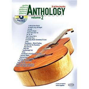 COMPILATION - ANTHOLOGY GUITAR VOL.2 24 ALL TIME FAVORITES + CD