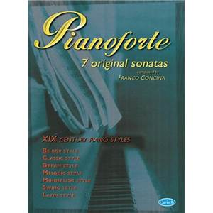CONCINA FRANCO - PIANOFORTE 7 ORIGINAL SONATAS FOR PIANO