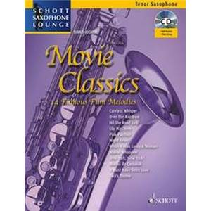 COMPILATION - MOVIE CLASSICS + CD SAXOPHONE (SIB)/PIANO