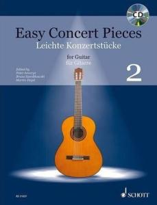 EASY CONCERT PIECES VOL.2 +CD - GUITARE