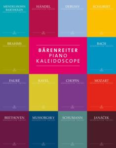 ALBUM BARENREITER PIANO KALEIDOSCOPE - PIANO