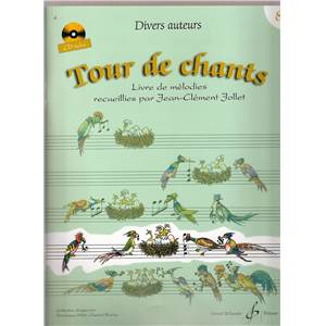 COMPILATION - TOUR DE CHANTS LIVRE DE MELODIES VOLUME 8 + CD