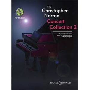 NORTON CHRISTOPHER - CONCERT COLLECTION VOL.2 PIANO + CD