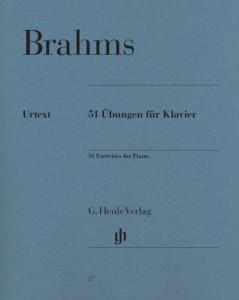 BRAHMS JOHANNES - EXERCICES (51) - PIANO