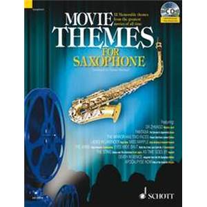 COMPILATION - MOVIE THEMES FOR TENOR SAXOPHONE (SIB) + CD