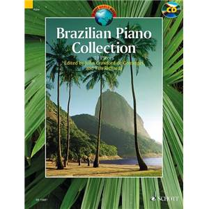 BRAZILIAN PIANO COLLECTION + CD (19 PIECES BRESILIENNES) - PIANO