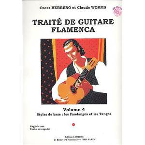 WORMS/HERRERO - TRAITE GUITARE FLAMENCA VOL.4