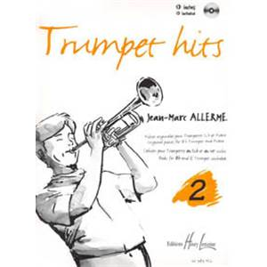 ALLERME JEAN-MARC - TRUMPET HITS VOL.2 + CD - TROMPETTE ET PIANO